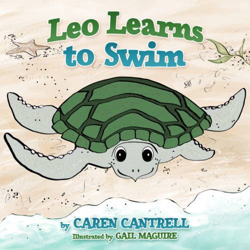 Caren Cantrell leo learns to swimm